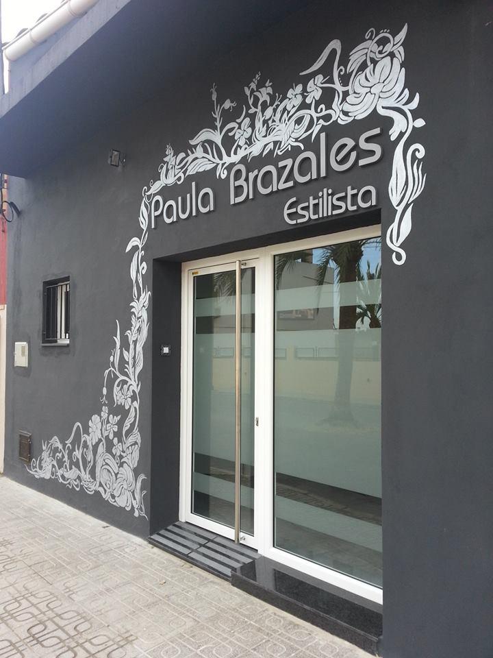 Paula Brazales estilista.