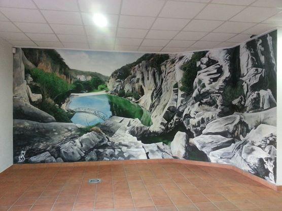 Interior. Lago de Bolbaite