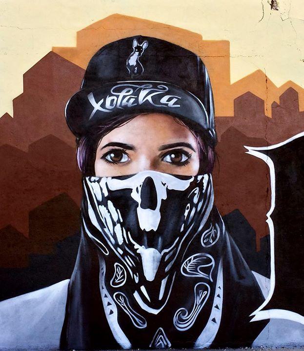 Gangsta girl.