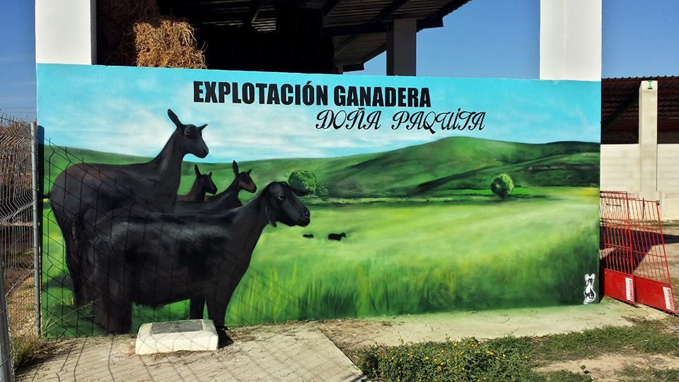 Explotación ganadera Doña Paquita.