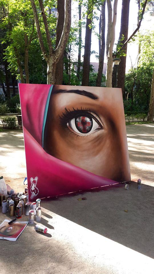 II exhibición de graffiti, Albacete.